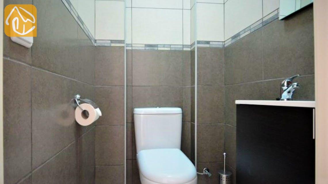 Ferienhäuser Costa Brava Spanien - Villa Monte Carlo - Toilet