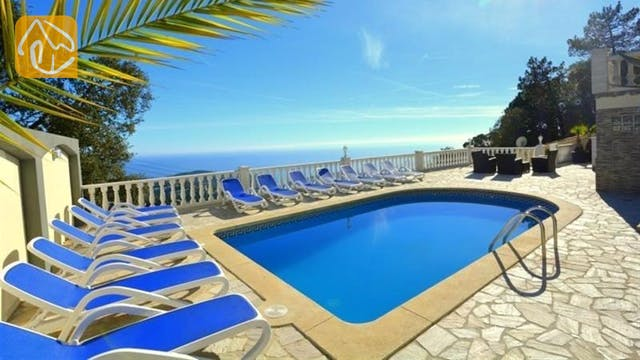 Casas de vacaciones Costa Brava España - Villa Promise - Piscina