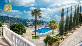 Holiday villas Costa Brava Spain - Villa Tropical - Swimming pool