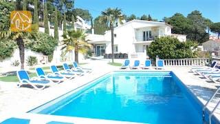 Holiday villas Costa Brava Spain - Villa Tropical - Swimming pool