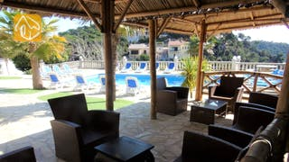 Holiday villas Costa Brava Spain - Villa Tropical - Terrace