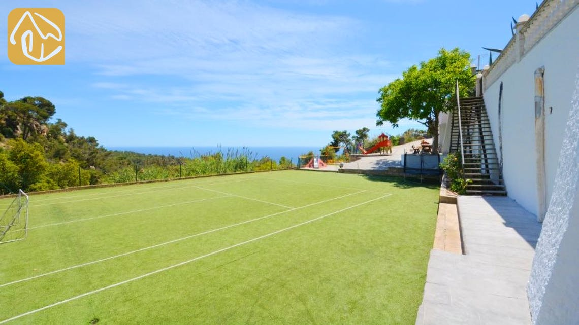 Ferienhäuser Costa Brava Spanien - Villa Tropical - Spielplatz