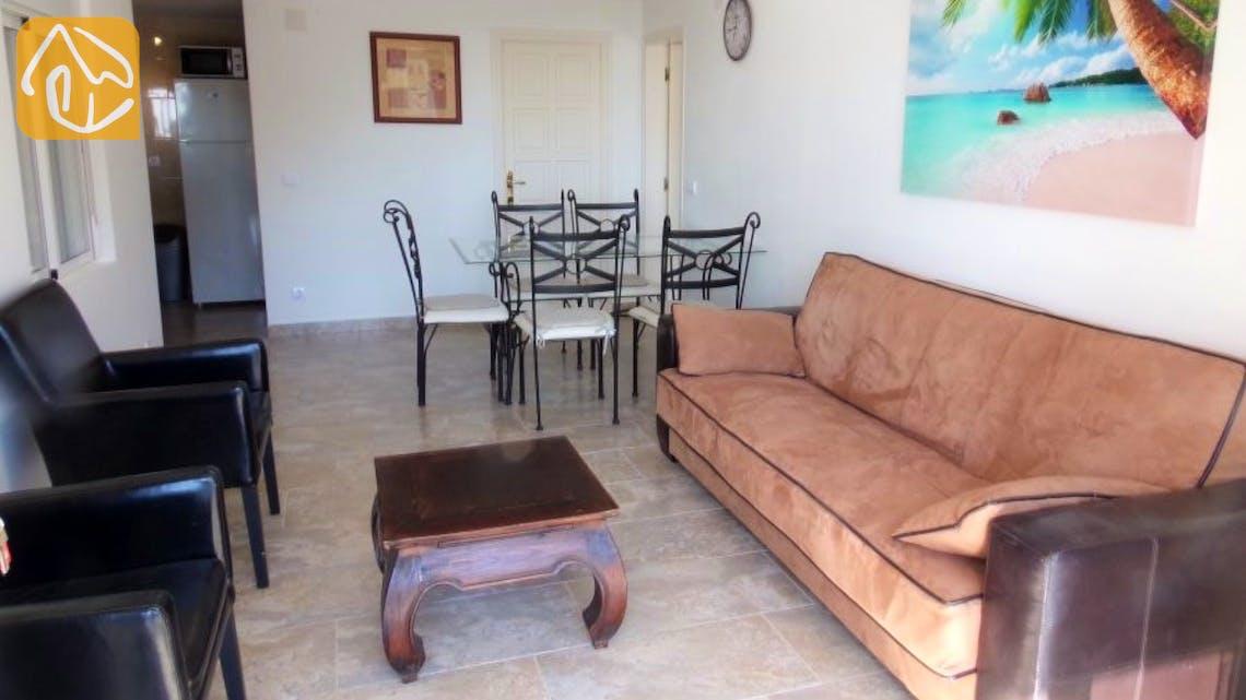 Ferienhäuser Costa Brava Spanien - Villa Tropical - Wohnzimmer
