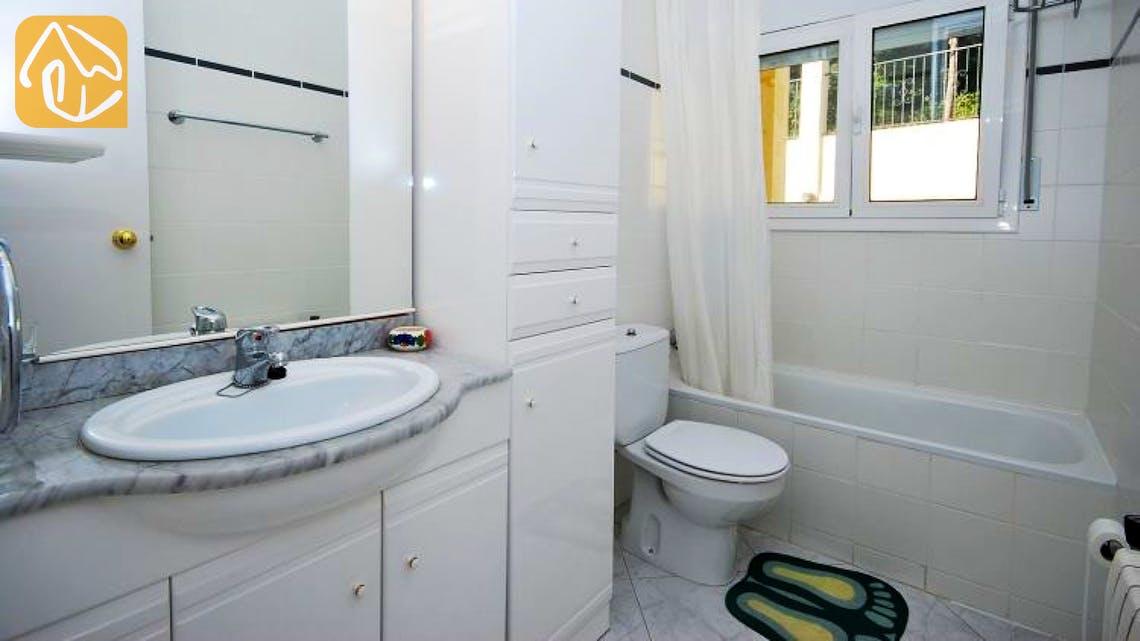 Ferienhäuser Costa Brava Spanien - Villa Tropical - Badezimmer