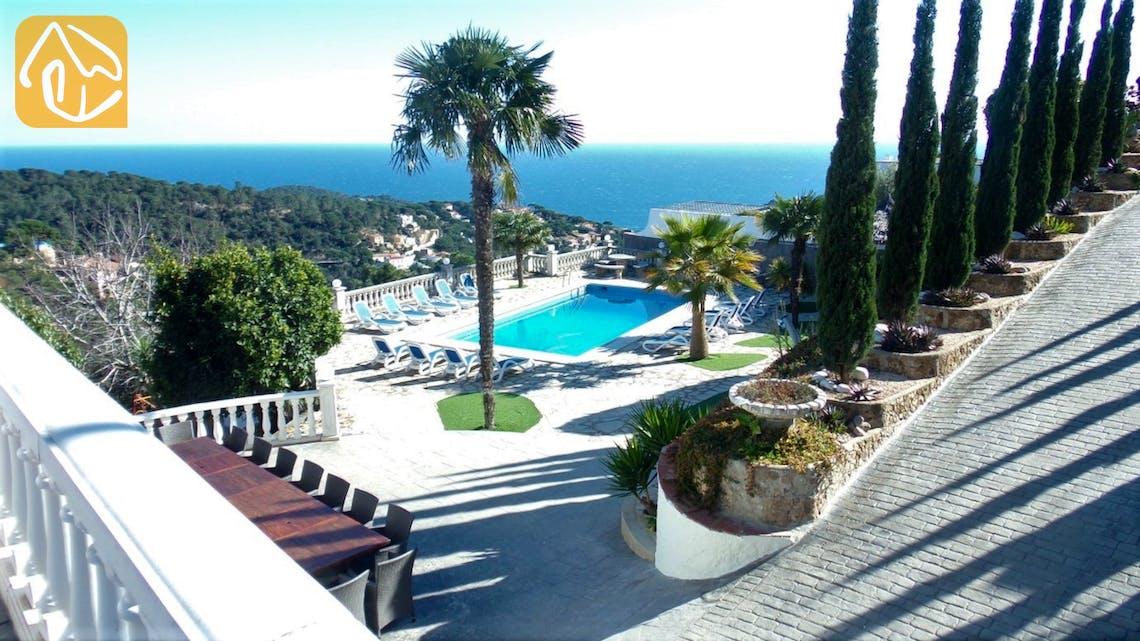 Ferienhäuser Costa Brava Spanien - Villa Tropical - Schwimmbad