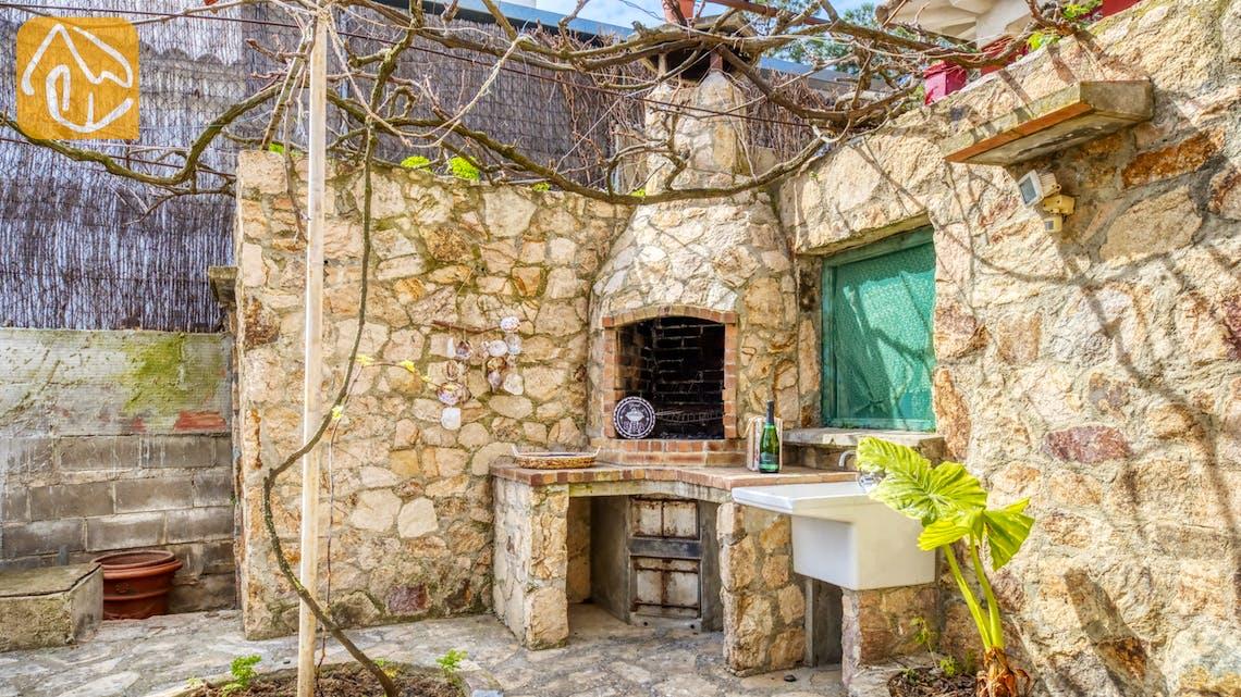 Casas de vacaciones Costa Brava España - Villa Janet - BBQ Area