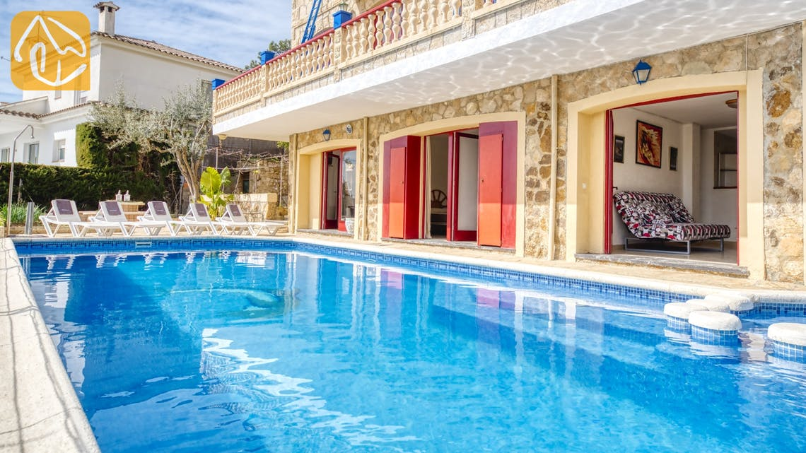 Vakantiehuizen Costa Brava Spanje - Villa Janet - Zwembad
