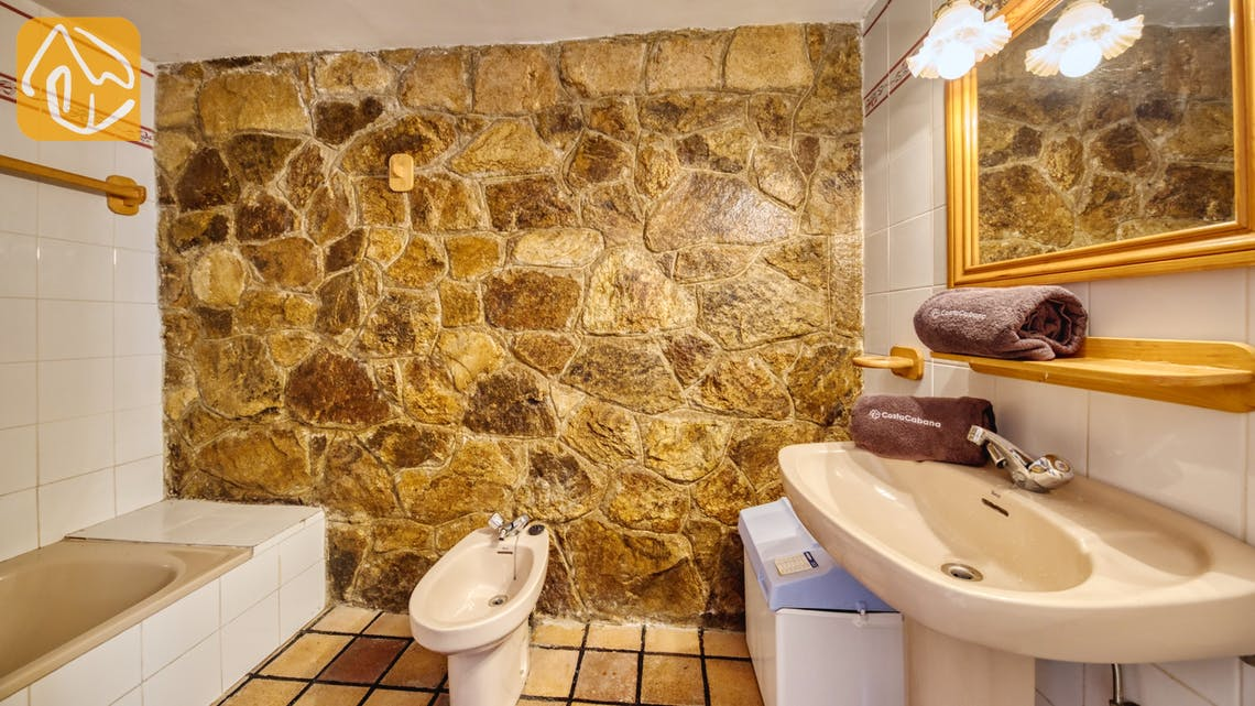 Vakantiehuizen Costa Brava Spanje - Villa Janet - Badkamer