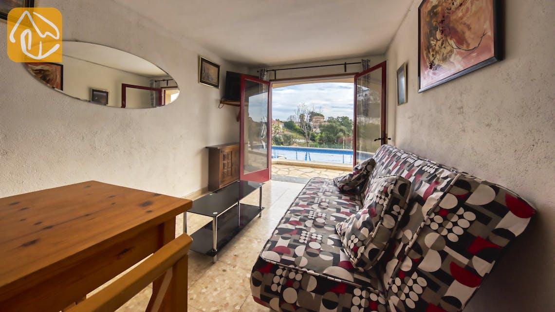 Casas de vacaciones Costa Brava España - Villa Janet - Salón