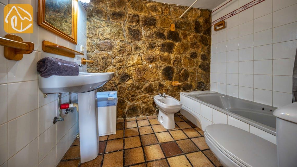 Casas de vacaciones Costa Brava España - Villa Janet - Baño