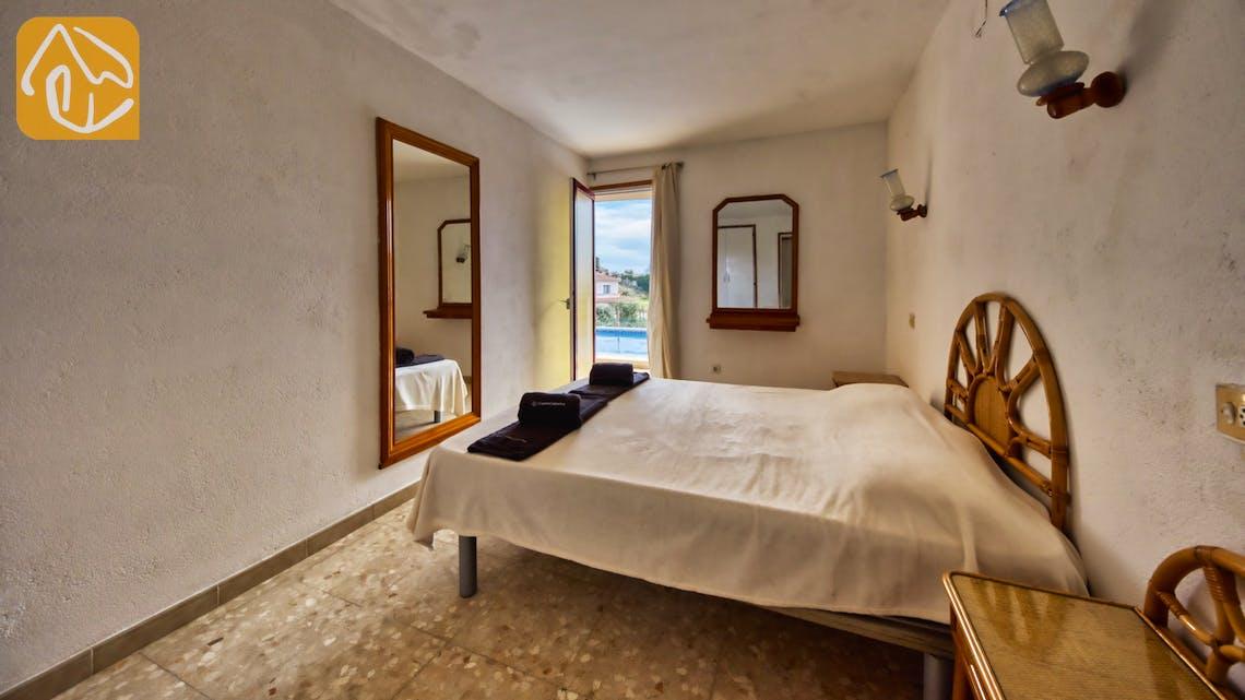 Vakantiehuizen Costa Brava Spanje - Villa Janet - Slaapkamer