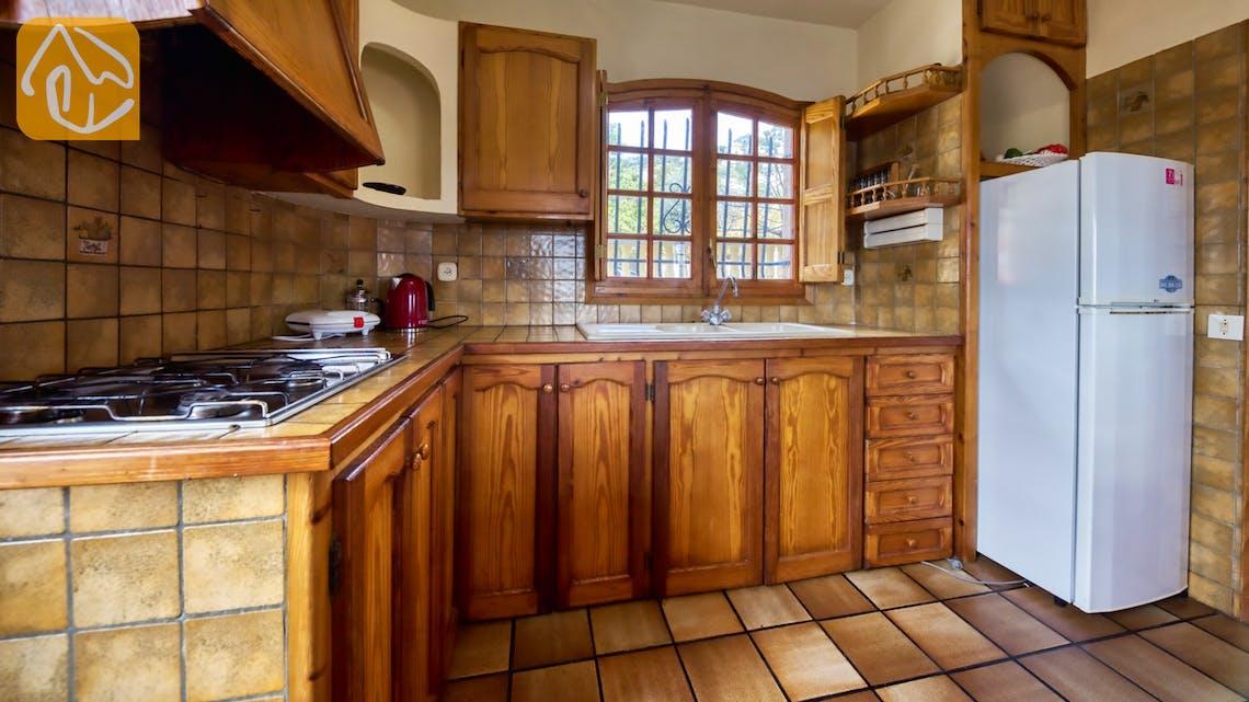 Vakantiehuizen Costa Brava Spanje - Villa Janet - Keuken