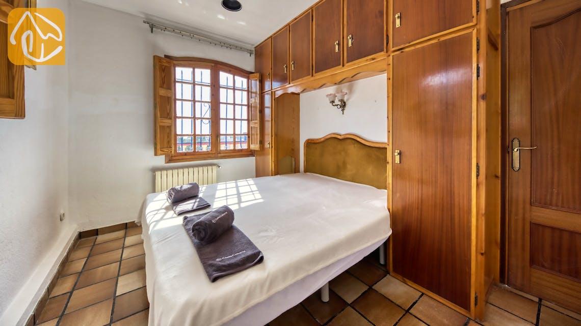 Casas de vacaciones Costa Brava España - Villa Janet - Dormitorio