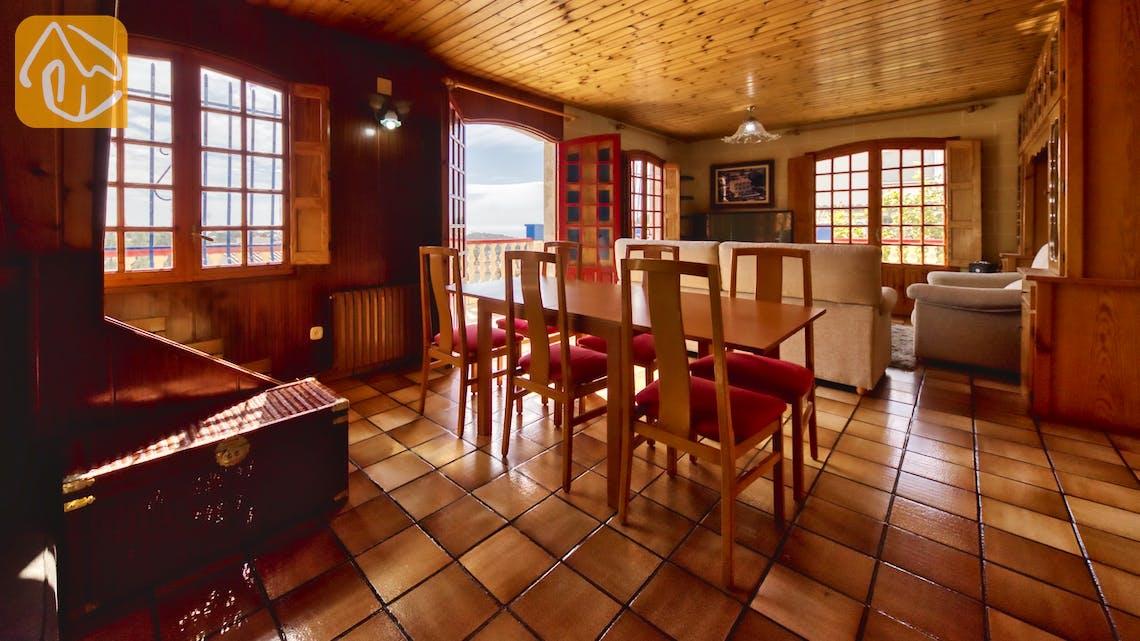 Vakantiehuizen Costa Brava Spanje - Villa Janet - Diner zone