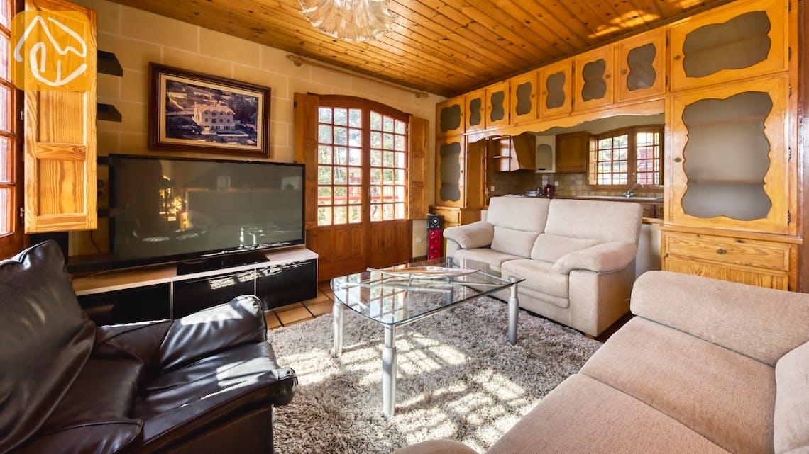Vakantiehuizen Costa Brava Spanje - Villa Janet - Woonkamer