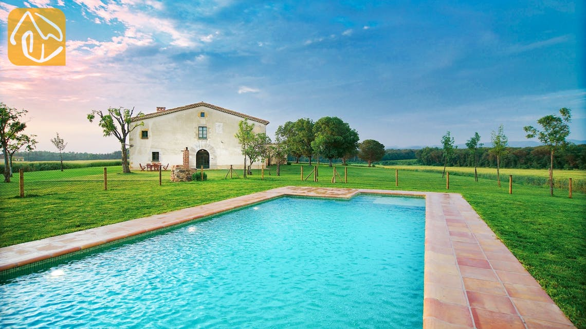 Holiday villas Costa Brava Countryside Spain - Can Rioja - Swimming pool