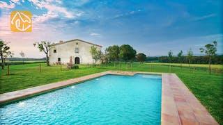 Casas de vacaciones Costa Brava Countryside España - Can Rioja - Piscina