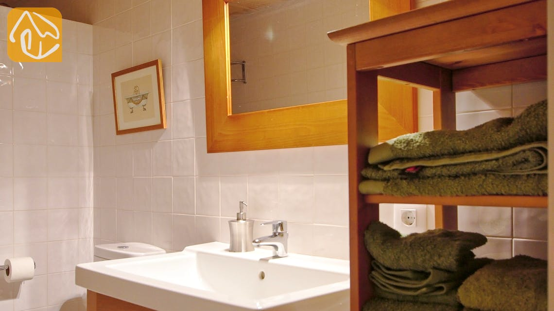 Holiday villas Costa Brava Countryside Spain - Can Rioja - Bathroom
