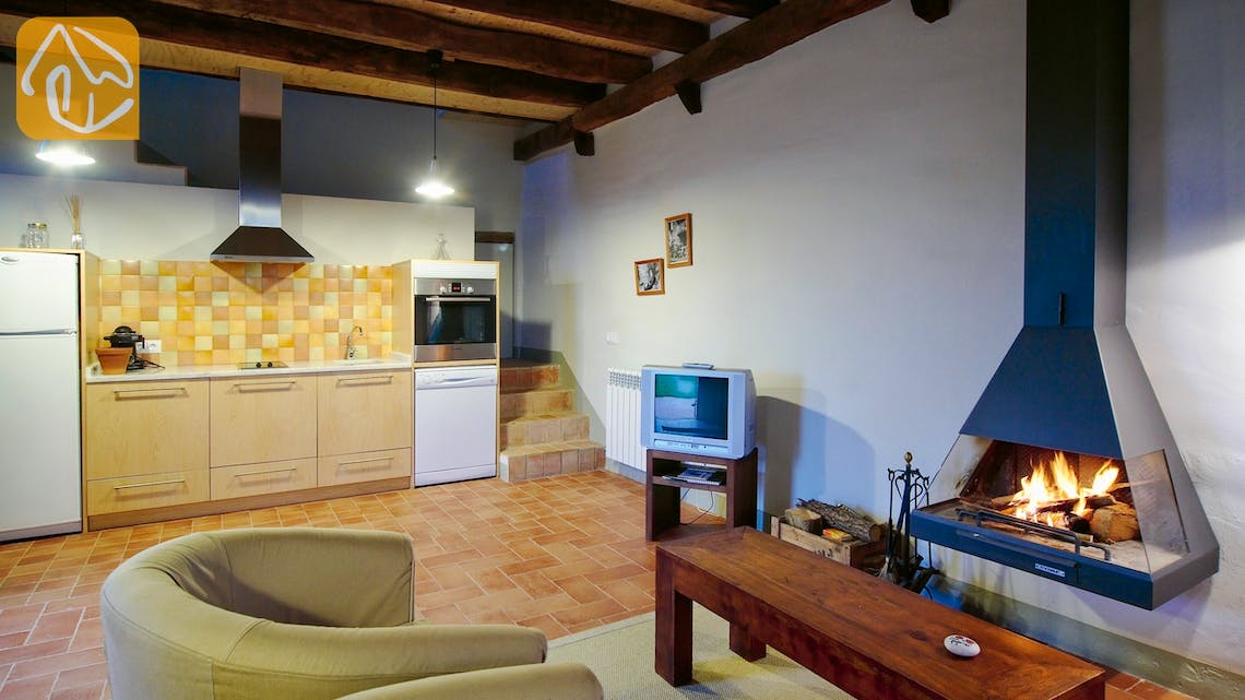 Holiday villas Costa Brava Countryside Spain - Can Rioja - Living area