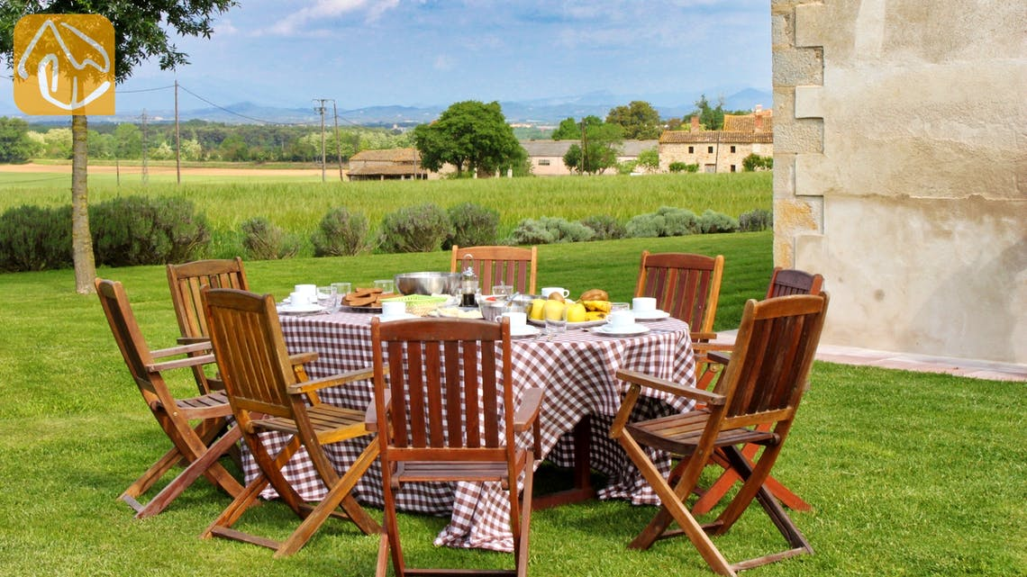 Holiday villas Costa Brava Countryside Spain - Can Rioja - Terrace