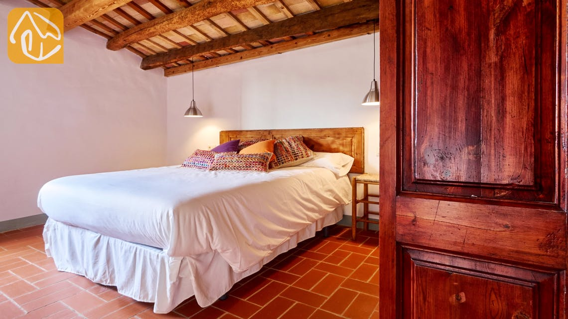 Holiday villas Costa Brava Countryside Spain - Can Magenta - Bedroom