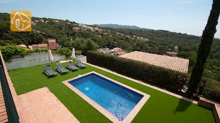 Holiday villas Costa Brava Spain - Villa Castello - Swimming pool
