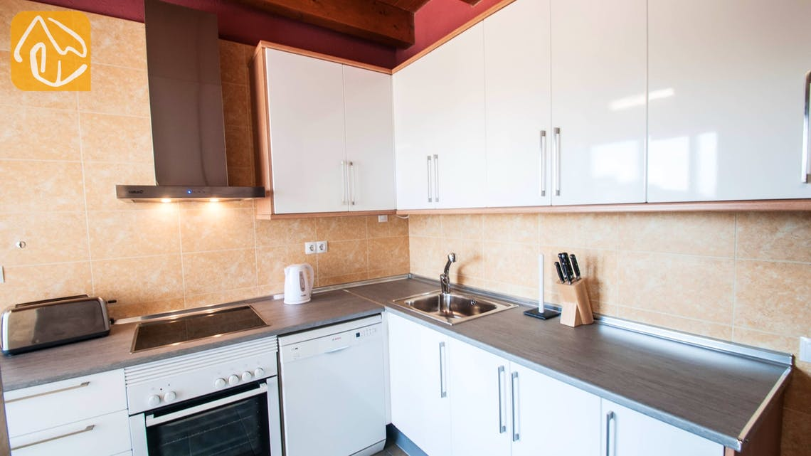 Holiday villas Costa Brava Spain - Villa Castello - Kitchen