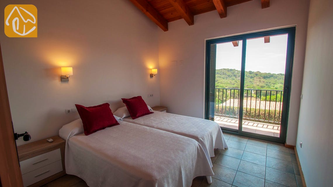 Holiday villas Costa Brava Spain - Villa Castello - Bedroom