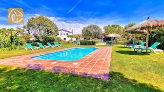 Ferienhäuser Costa Brava Spanien - Can Mica - Villa Außenbereich