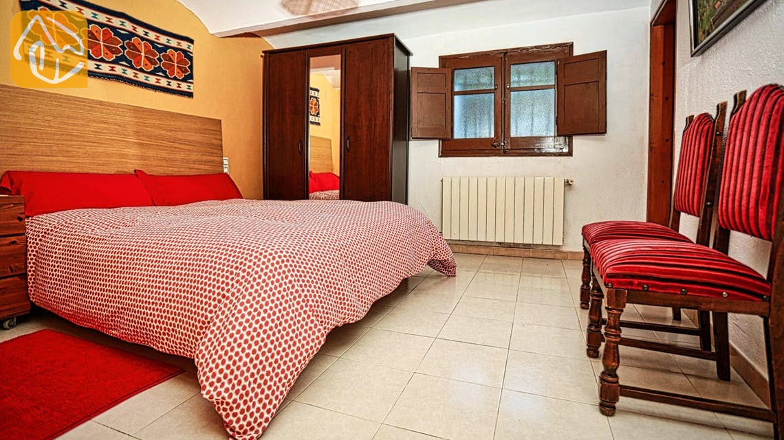 Holiday villas Costa Brava Countryside Spain - Can Mica - Bedroom