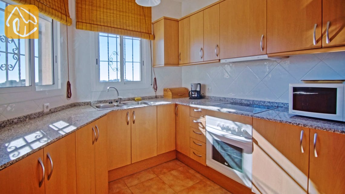 Ferienhäuser Costa Brava Spanien - Villa Nola - Küche