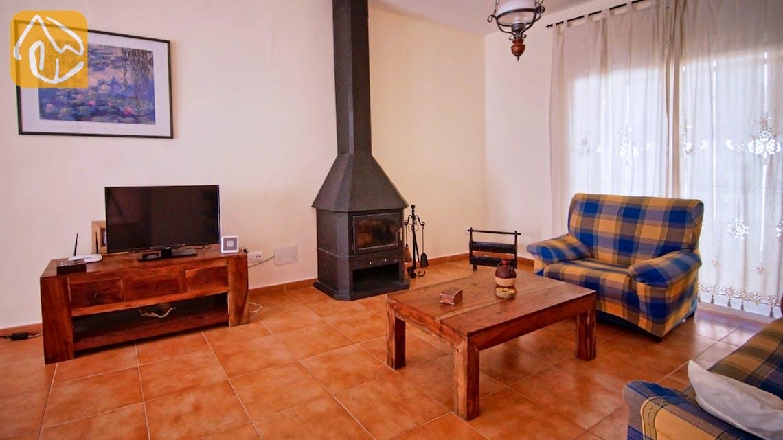 Ferienhäuser Costa Brava Spanien - Villa Nola - Wohnbereich