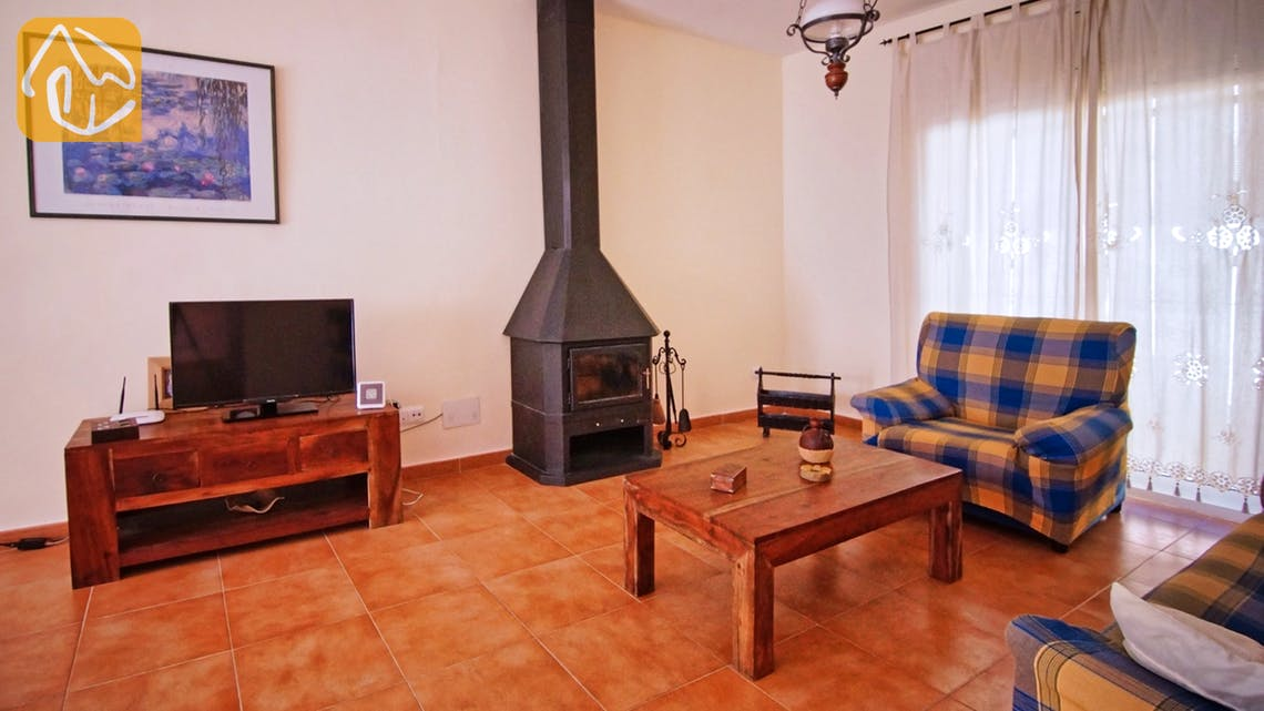 Holiday villas Costa Brava Spain - Villa Nola - Living area
