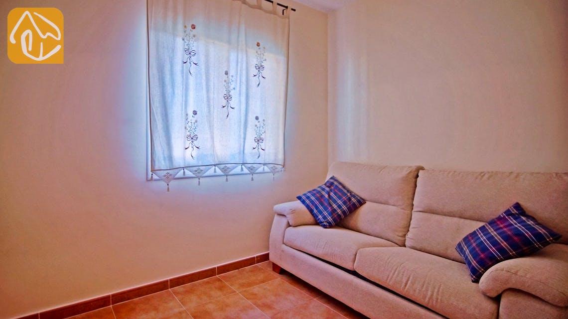 Ferienhäuser Costa Brava Spanien - Villa Nola - Sitzecke