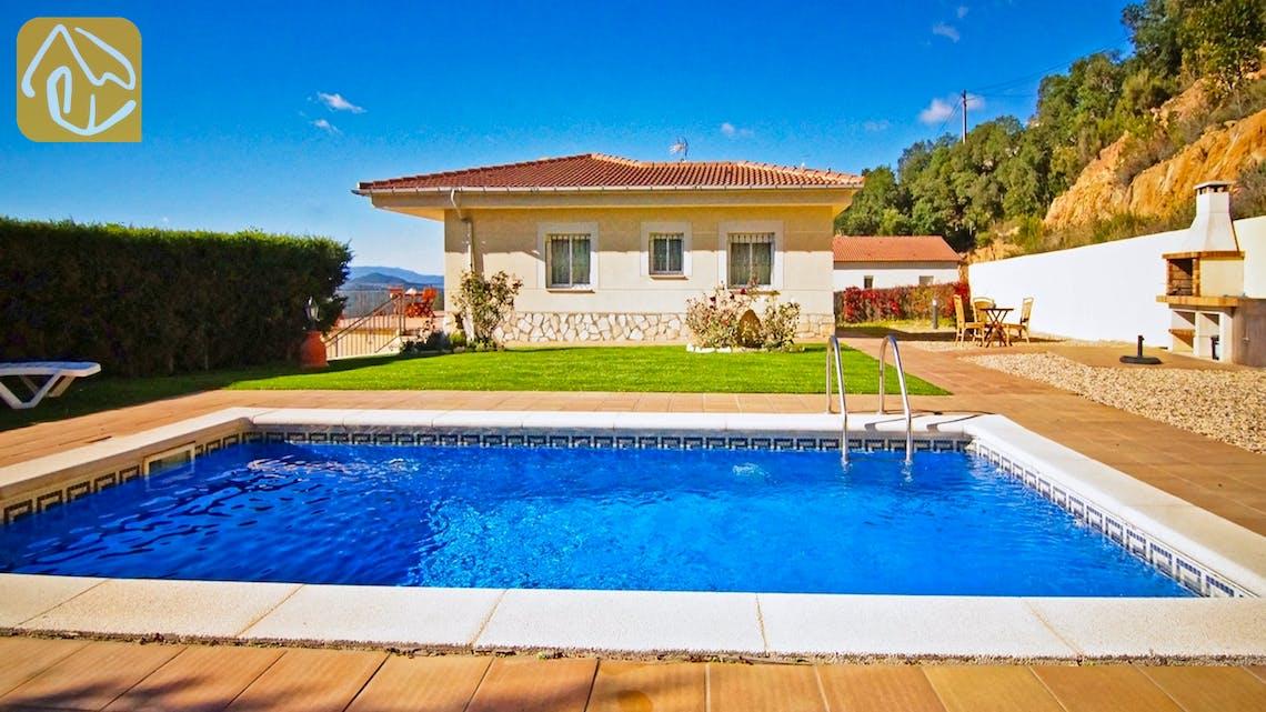 Ferienhäuser Costa Brava Spanien - Villa Nola - Villa Außenbereich