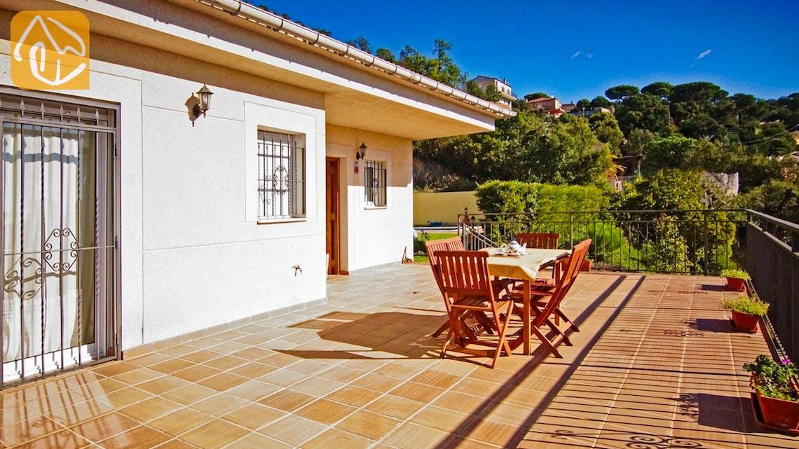 Ferienhäuser Costa Brava Spanien - Villa Nola - Terrasse
