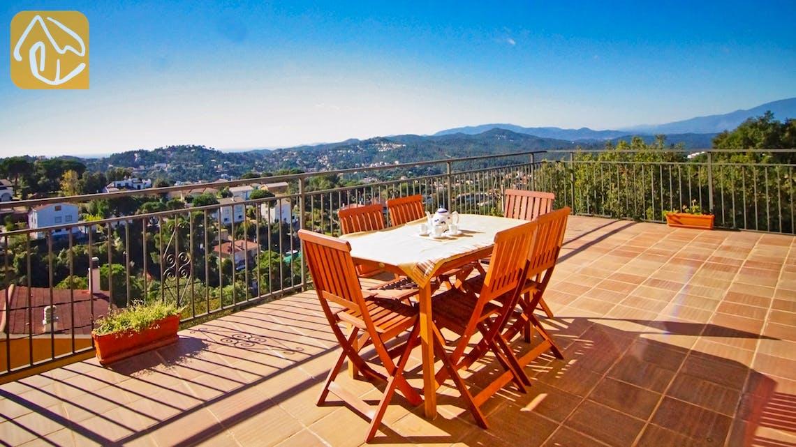 Holiday villas Costa Brava Spain - Villa Nola - One of the views