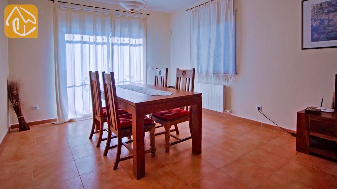 Ferienhäuser Costa Brava Spanien - Villa Nola - Essbereich