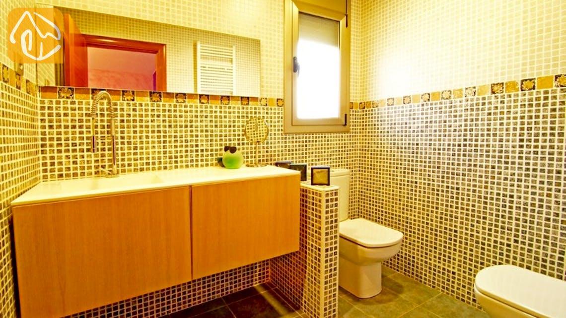 Holiday villas Costa Brava Countryside Spain - Villa Maralda - Bathroom