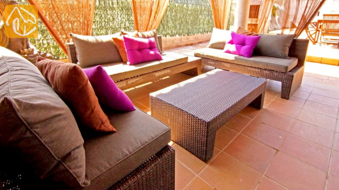 Holiday villas Costa Brava Countryside Spain - Villa Maralda - Terrace