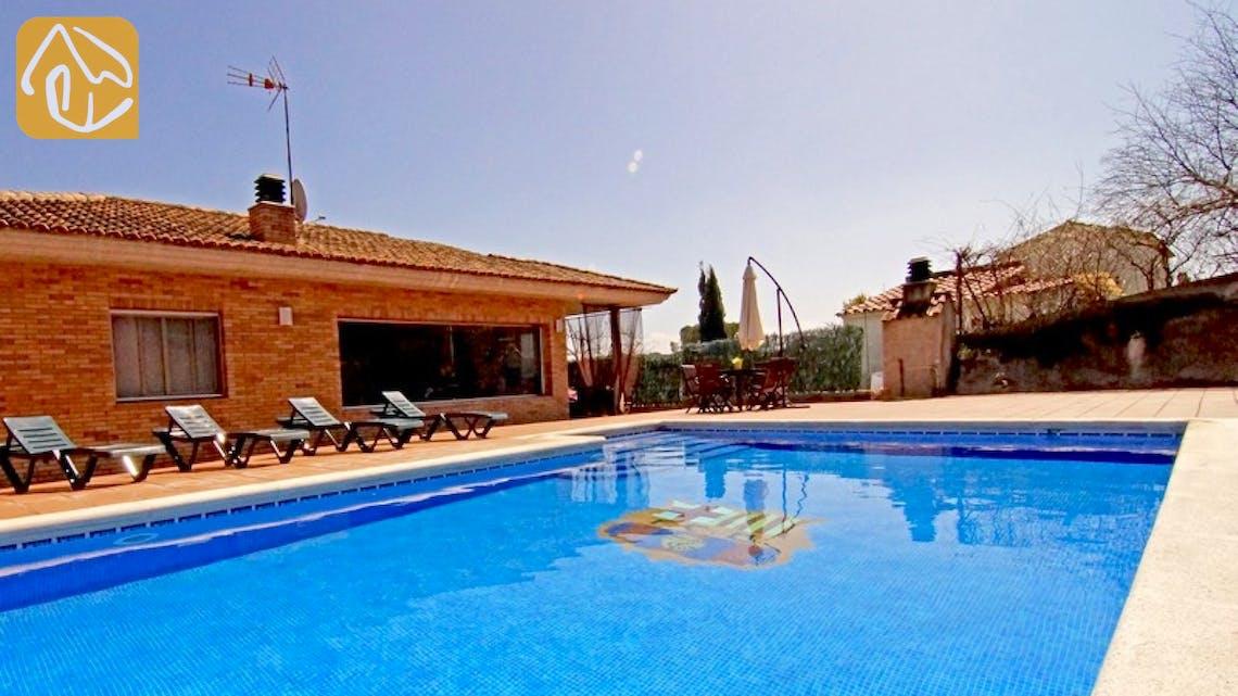 Holiday villas Costa Brava Countryside Spain - Villa Maralda - Swimming pool