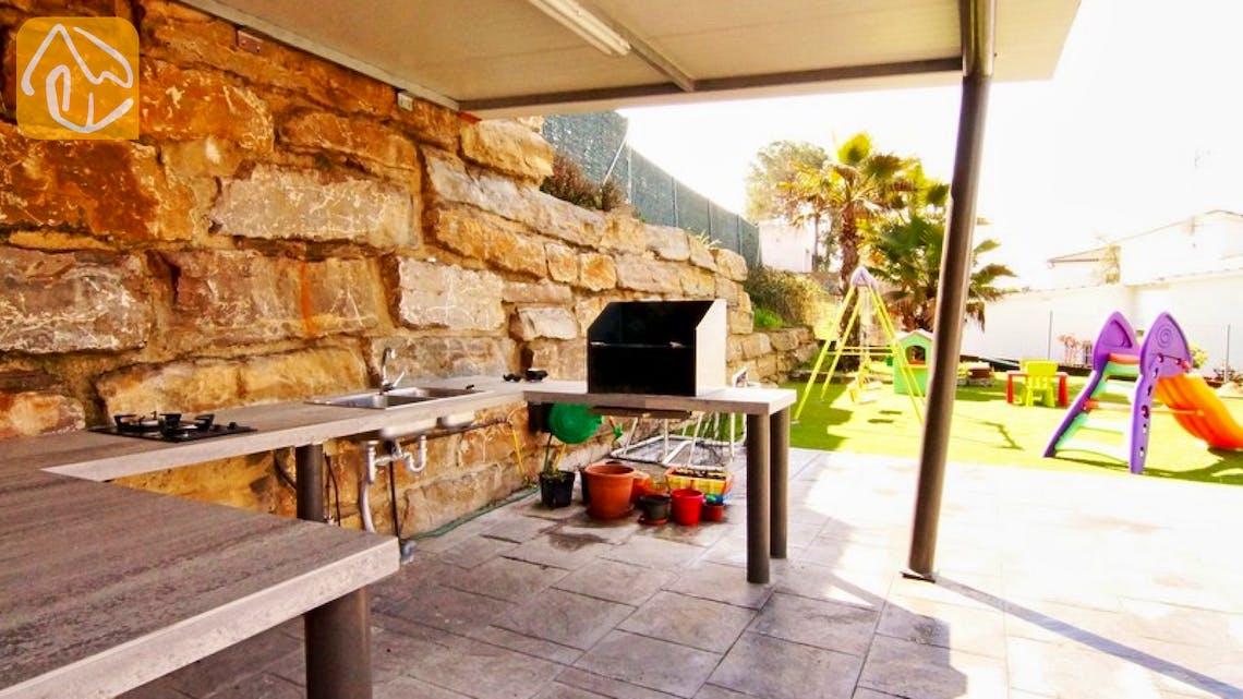 Casas de vacaciones Costa Brava Countryside España - Villa Denise - BBQ Area