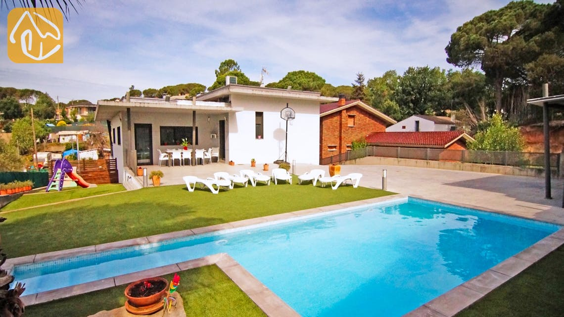 Casas de vacaciones Costa Brava Countryside España - Villa Denise - Piscina