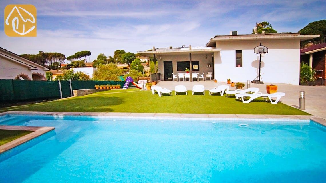 Casas de vacaciones Costa Brava Countryside España - Villa Denise - Afuera de la casa