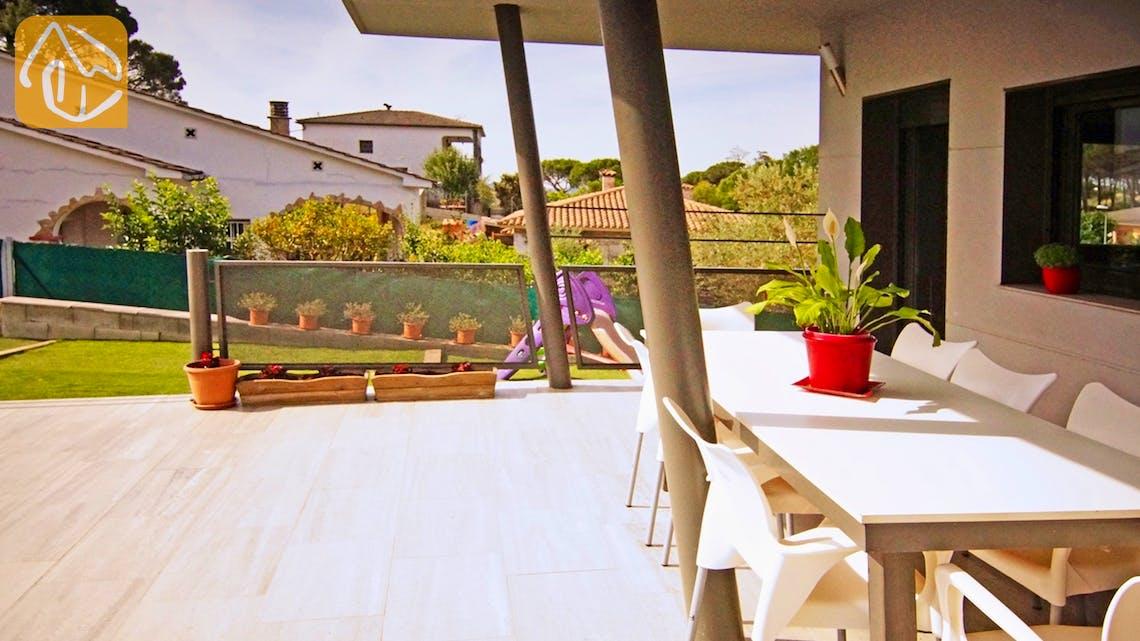 Casas de vacaciones Costa Brava Countryside España - Villa Denise - Terraza