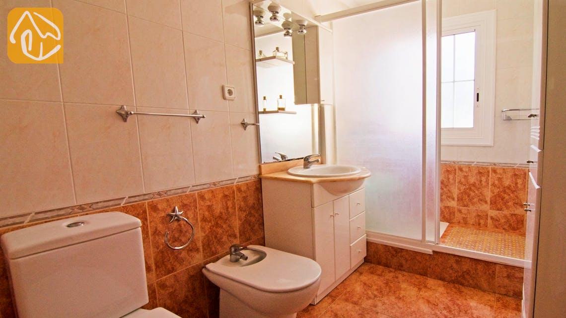 Casas de vacaciones Costa Brava Countryside España - Villa Farnolia - Baño