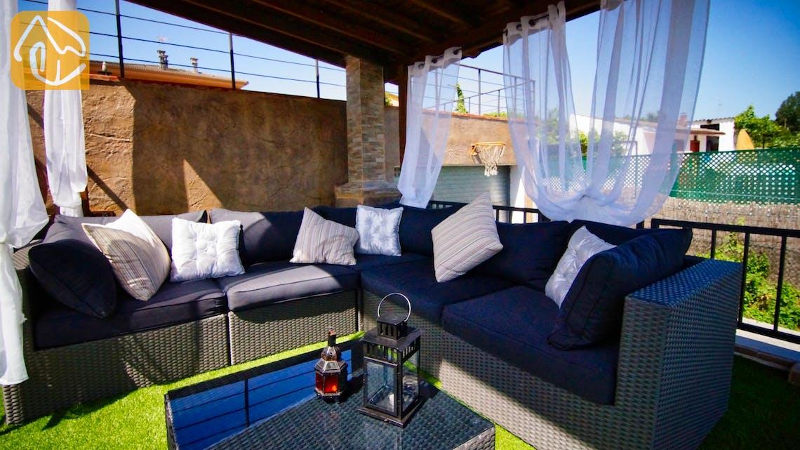 Casas de vacaciones Costa Brava Countryside España - Villa Farnolia - Sala de estar