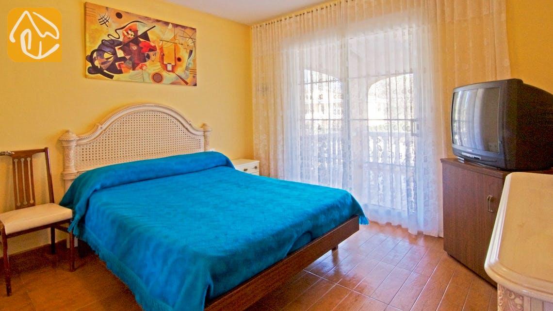 Casas de vacaciones Costa Brava Countryside España - Villa Farnolia - Dormitorio