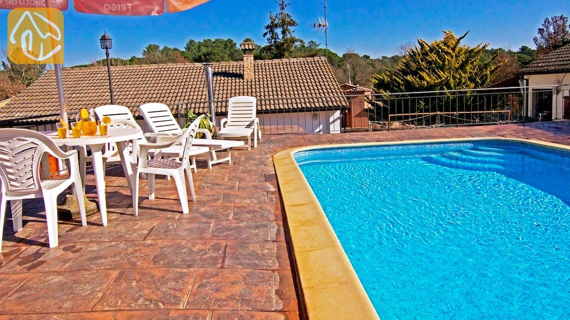 Casas de vacaciones Costa Brava Countryside España - Villa Farnolia - Piscina