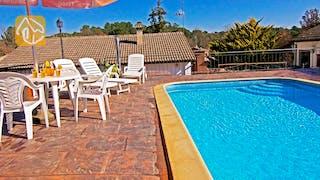 Holiday villas Costa Brava Countryside Spain - Villa Farnolia - Swimming pool